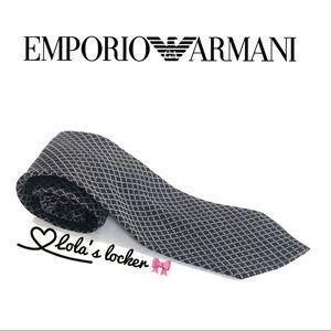 Emporio Armani Silk-Wool Tie